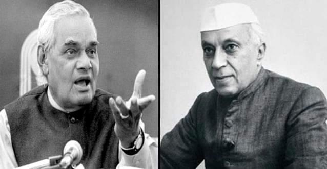 अटल बिहारी वाजपेयी ने पंडित जवाहर लाल नेहरू के निधन पर यह कह कर श्रद्धांजलि दी थी- उनकी देशभक्ति के प्रति हमारे हृदय में आदर के अतिरिक्त और कुछ नहीं है।