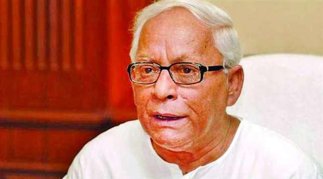 पश्चिम बंगाल के पूर्व मुख्यमंत्री बुद्धदेव भट्टाचार्य