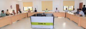 मुख्यमंत्री नीतीश कुमार ने समीक्षा बैठक की