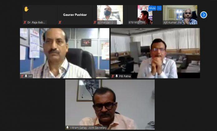 डिजिटल मीडिया आचार संहिता का उदेश्य सूचना एवं प्रसारण मंत्रालय के संयुक्त सचिव विक्रम सहाय ने डिजिटल प्रकाशकों को विस्तार से समझाया।